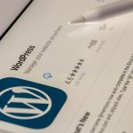 WordPress update versie